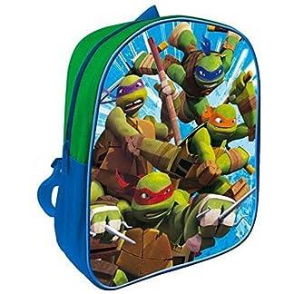 51mh25uAP9L. SS324  - GUIZMAX mochila Tortuga Ninja Disney Niño Escuela