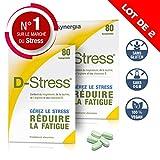 D-Stress ➠ Magnésium hautement assimilé, taurine, arginine et vitamines B ➠ Origine France ➠ Lot de 2