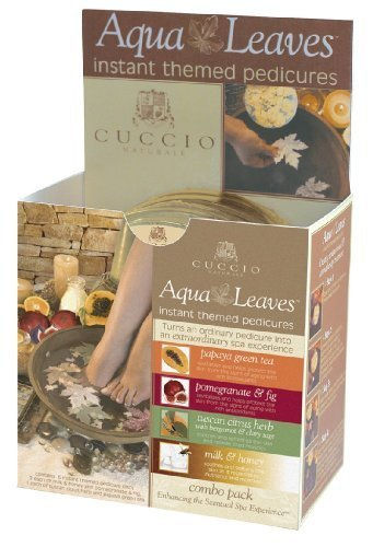 Cuccio Assorted Aqua Leaves, Papaya and Guava by