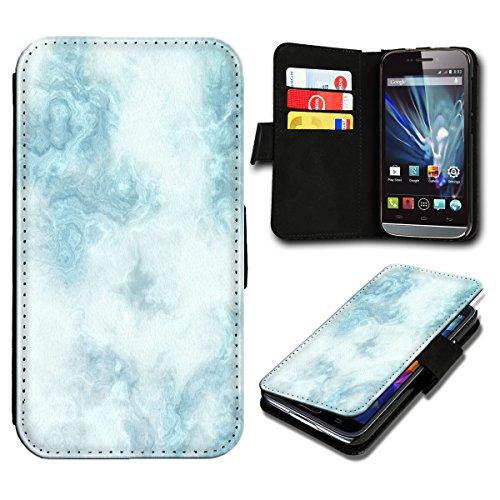 Book Style Huawei Ascend P7 Mini Premium PU-Leder Tasche Flip Brieftasche Handy Hülle mit Kartenfächer für Huawei Ascend P7 Mini - Design Flip SV8