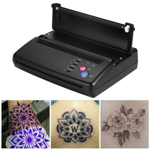 Schwarz A4 Thermal Thermischen Kopierer Drucker Tattoo Thermotransfer Maschine Tattoo Transfer Papiertransfermaschine Kopierer Tätowierung hermal