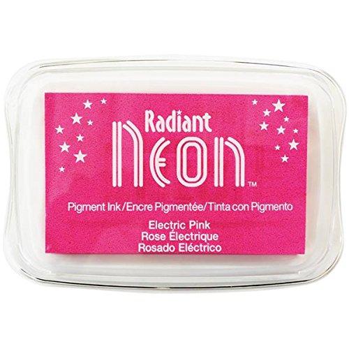 Strahlend Neon Elektrische Tinte Pad, Pink
