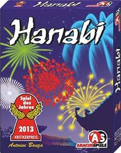ABACUSSPIELE 08122 – Hanabi von Antoine Bauza, Spiel des Jahres 2013
