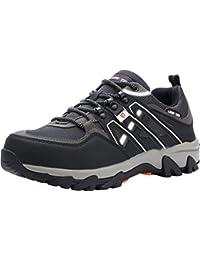 LARNMERN Sicherheitsschuhe Arbeitsschuhe Herren, LM-1505 Sicherheit Stahlkappe Stahlsohle Anti-Perforations Luftdurchlässige Schuhe