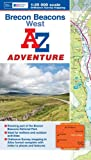 Brecon Beacons (West) Adventure Atlas (A-Z Adventure Atlas)