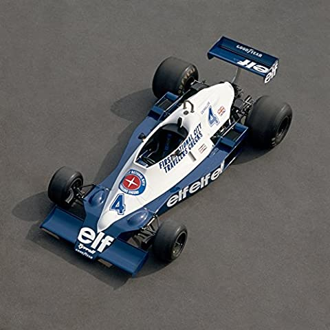 Panoramic Images – 1978 Tyrrell-Cosworth 3.0 litre F1 single seat racing car. Driven by Patrick Depailler. Country of origin United Kingdom. Fine Art Print (30.48 x 30.48