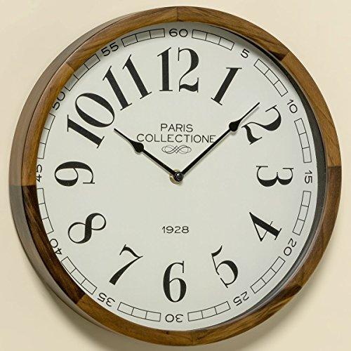 Wand-Uhr Millie D32cm Material: Kiefer