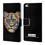 Official P.D. Moreno Lioness Animals Leather Book Wallet