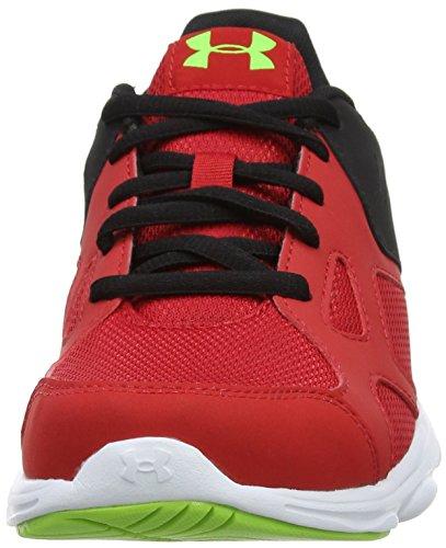 Under Armour Ua Bgs Pace Rn, Chaussures de Running Compétition Garçon Rouge (Red 600)