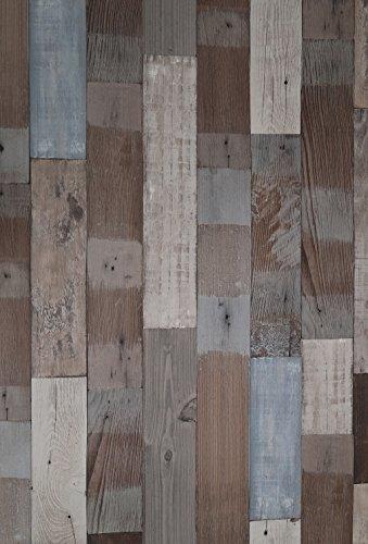 (Pack of 1) Panel autoadhesivo de madera, pelar y pegar, para pared, papel pintado 61 cm x 2 m, 0,23 mm, PVC impermeable, cocina, cama, salón, baño, revestimiento de cajón, extraíble