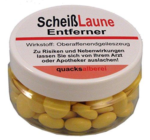 """Preisvergleich Produktbild quacksalberei Lustige Pille""""ScheißLaune Entferner"""""""