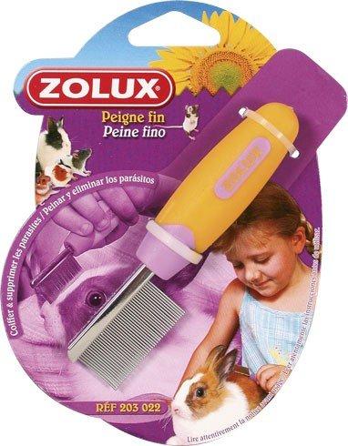 Zolux Peigne Antiparasite Rodycare pour Rongeur