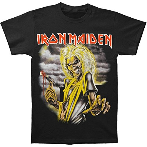Global Merchandising Iron Maiden Killers T-Shirt Black - Large
