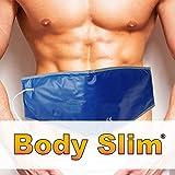 Bodyslim Heat Belt. 75460 Ceinture Amincissante avec Fonction Sauna - Ceinture Amincissante chauffante pour Ventre et abdominaux