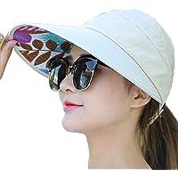 metyou Sun Hüte Damen Sommer Hut Outdoor UV-Schutz breit groß Krempe Gap Beach Visier Kappen faltbar