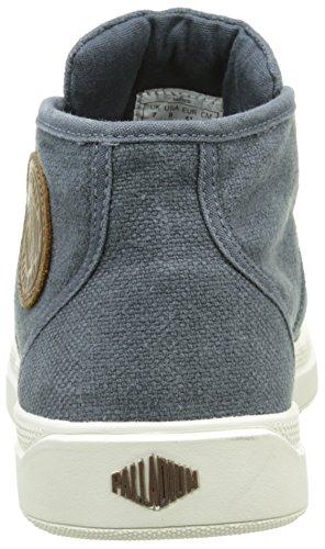 Palladium Pallaru Midlc M, Sneakers Hautes homme Gris (B33 Dark Slate/Marshmallow)