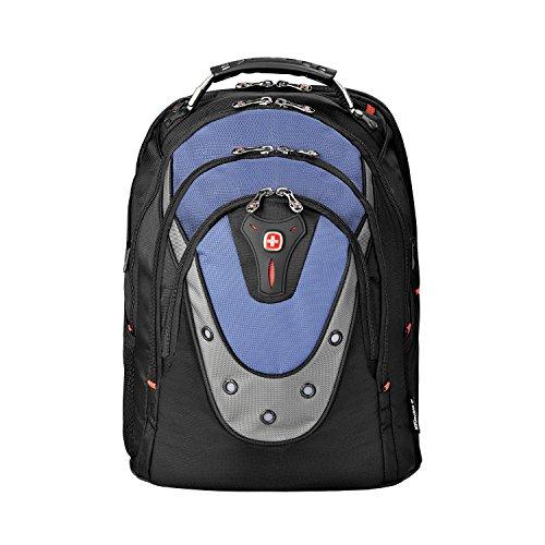 Wenger 600638 IBEX 17-Zoll-Laptop-Rucksack, Triple schützen Fach mit iPad/Tablet/eReader Pocket in blau {23 Liter} (Flex-schultergurt)
