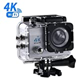 4K Action Camera WiFi 1080P, OCDAY Sport 170°Grandangolare Telecamere di Altissima Qualità Ultra HD