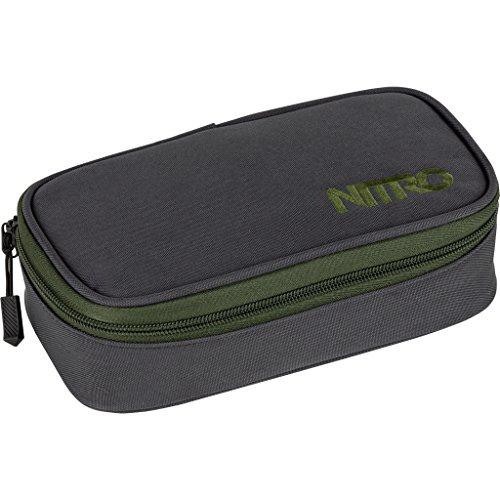 Nitro Snowboards Pencil Case XL, Estuche 21 cm, Pirate Black