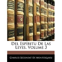 Del Espíritu De Las Leyes, Volume 3