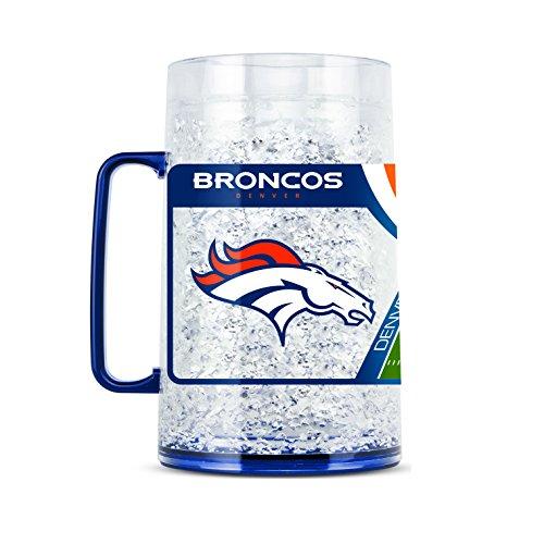 Duck House NFL Denver Broncos Tasse für Gefrierschrank, Monster aus Kristall, ca. 85 ml Ipod Factory Radio