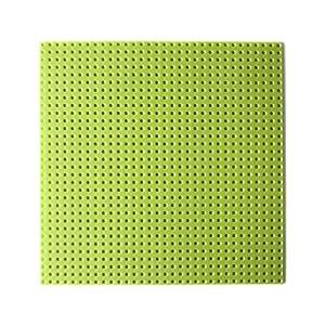 Katara 1672 - Placa de Construcción 25,5x25,5cm - Base Compatible con Lego, Sluban, Papimax, Q-Bricks, Verde Claro