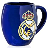 Real Madrid FC Blue White Tea Tub Football Club Fan Gift Boxed Mug Official