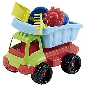 Smoby- Camión con Cubo y Accesorios Playa, 18m+ (504)