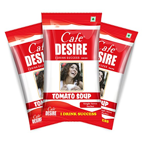 Certified Cafe Desire Instant Tomato Soup Premix, 20 Sachets 300g