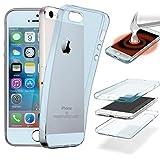 Coque Compatible avec iPhone 4S / 4, 360° Housse Protection Intégralee Avant +...