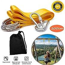 Amazon.es  columpio de yoga - Amarillo 18b0a51a3032