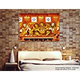[Sponsored]Tamatina Kerala Mural Canvas Paintings - Apsara - Indian Paintings - Traditional Art Paintings - Paintings For Home Décor - Paintings For Bedroom - Paintings For Living Room - Religious Canvas Paintings - Kerala Mural Paintings For Wall