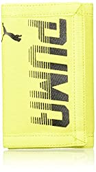 Puma Nrgy Yellow-Black Mens Wallet (7471606)