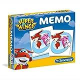 Clementoni Kinder Memo Spiel kompakt | 48 Karten | Super Wings | Legespiel