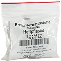 SENADA Heftpflaster 2,5 cmx5 m Spule 1 St preisvergleich bei billige-tabletten.eu