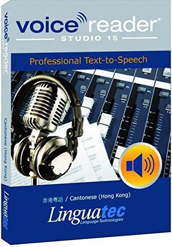 Preisvergleich Produktbild VOICE READER STUDIO 15 Cantonese (Hong Kong) / Kantonesisch (Hong Kong) – Professional Text-to-Speech • TTS • Professionell Vertonen • Zuverlässige Sprachausgabe für Windows PCs • Beliebige Texte in Audio umwandeln • Einzigartige Sprachqualität • kostengünstige Alternative zum Tonstudio • Einsatzmöglichkeiten ohne Grenzen: Vertonung von Präsentationen, Reiseführern, Firmenvideos; E-Learnung; Sprachenlernen; Verkehrsdurchsagen; Informationssysteme; Erstellen von Hörbüchern, Unterstützung bei Sehschwäche und Dyslexie u.v.m.