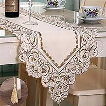 Multi-Table Caminos de Mesa Table Cloth Manteles Bordado Hueco jardín Mantel Tela de la