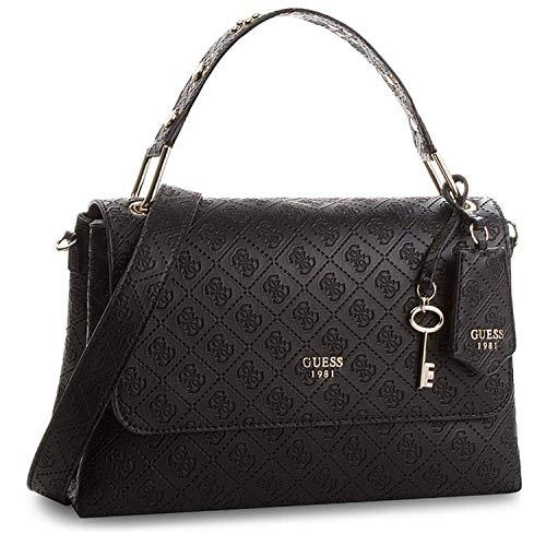 Guess Coast To Coast, Women's Cross-body Bag, Black (Blackbla), 13x19x13.5 Cm (W X H L)