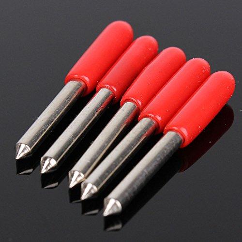 OUTERDO 5 Stück Plottermesser Schneidemesser 45 Grad Für Roland Cutter Schneideplotter