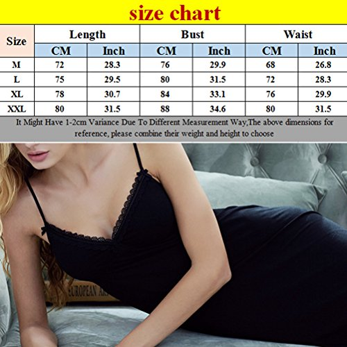 Zhuhaitf Alta qualità Adult Women Elegant V-collar Casual Camisole Sleep Skirt Fun Pajamas 3 Color Gray