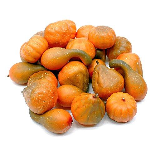 nt, 24 Stück orange/grün, künstlich, Früchte/ TOP ! ()