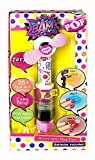 takestop Lot Jeu ongles vernis en 3Step Glitter Stickers autocollant pour ventilateur Pop Girl sèche vernis manucure filles fillettes ans 5+