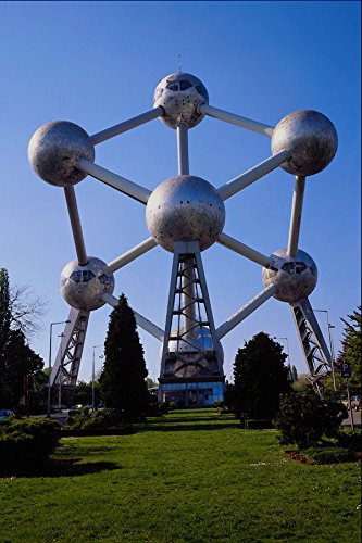 665030 The Atomium Brussels Belgium A4 Photo Poster Print 10x8