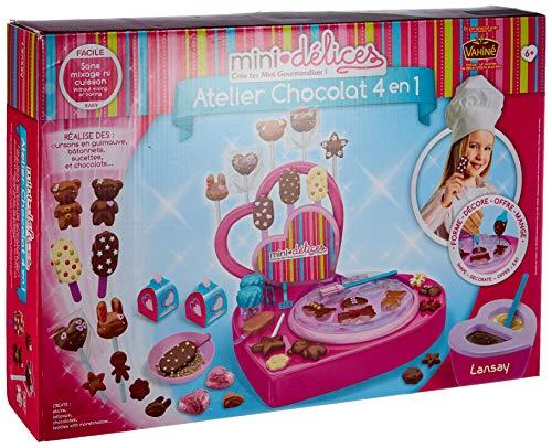 Lansay- Atelier Chocolat 4 en 1, 17902
