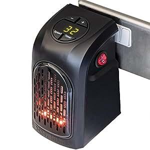 handy heater chauffage d 39 appoint 400w portable et puissant mini fast heater avec temporisateur. Black Bedroom Furniture Sets. Home Design Ideas