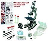 EDU Toys Mikroskop Zoom 100x – 900x im Handkoffer Lernmikroskop