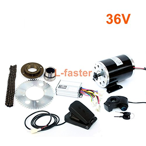 L-faster 1000w elektro - motorrad - kit mit 25h kettenantrieb high - speed - elektro - roller ersatz elektro - kart conversion kit (36V pedal kit)