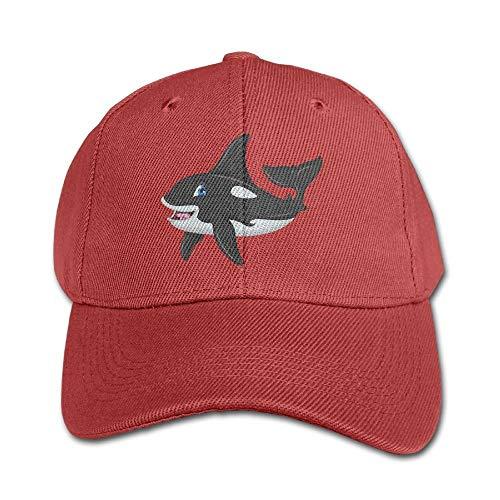 f73a6955d892d7 Cute Killer Whale Pure Color Baseball Cap Cotton Adjustable Kid Boys Girls  Hat