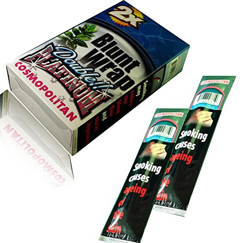 2 x New Blunt Wrap – Wrapping di sigaro/fatto AS per UK standard Cosmopolitan