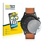 2X BROTECT HD Clear Bildschirmschutz Schutzfolie für Fossil Q Nate (kristallklar, extrem Kratzfest, schmutzabweisend)